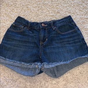 Old Navy Jean shorts with adjustable button inside
